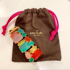 Kate Spade jewel statement bracelet